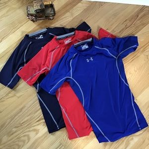 Under Armour compression T shirt bundle
